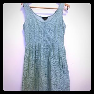 Light sage lace Jack by BB Dakota dress W 8